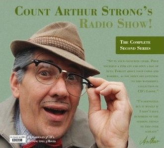 Count Arthur Strong's Radio Show! - The front cover of the second series CD release, featuring Count Arthur Strong