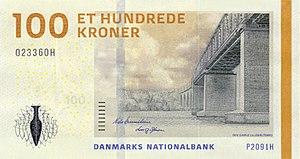 Danish krone - Image: DKK 100 obverse (2009)