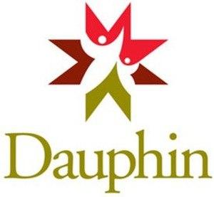 Dauphin, Manitoba - Image: Dauphin MB logo