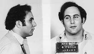 David Berkowitz - Berkowitz's mug shots on August 11, 1977