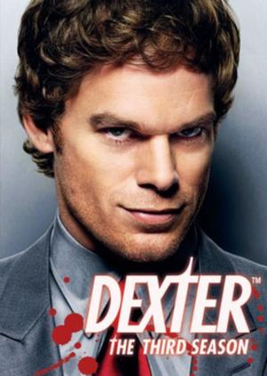 Dexter (season 3) - DVD cover