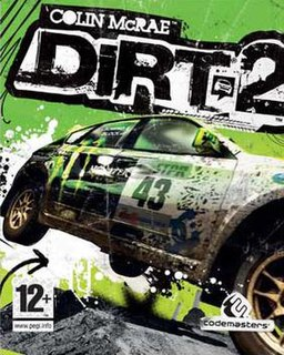 <i>Colin McRae: Dirt 2</i> racing video game by Codemasters