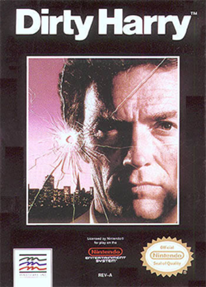 Dirty Harry (1990 video game) - Dirty Harry