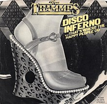 Disco Inferno by The Trammps 1978 US vinyl re-release.jpg
