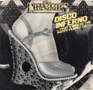 Disco Inferno 1976 single by The Trammps