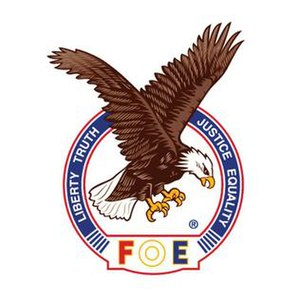 Fraternal Order of Eagles - Image: FOE Aerie Logo