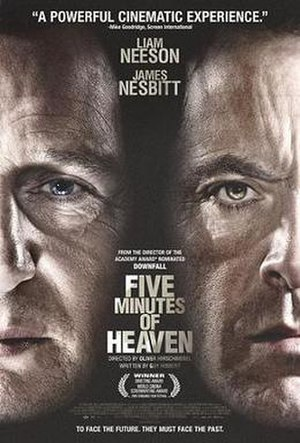Five Minutes of Heaven - Promotional film poster