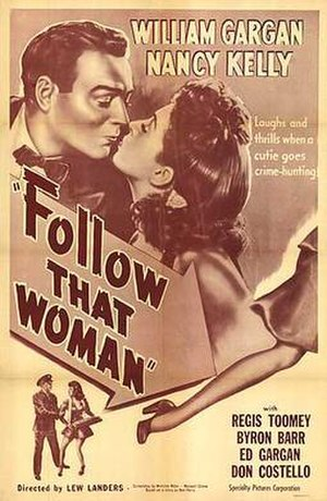 Follow That Woman - Theatrical release poster
