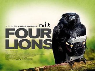 Four Lions - Theatrical release poster