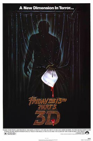 Friday the 13th Part III - Theatrical release poster