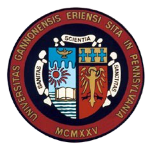 Gannon University - Image: Gannon University seal