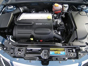 Saab B207 engine in a 2008 Saab 9-3 2.0T Gm ecotec LK9 saab93.jpg