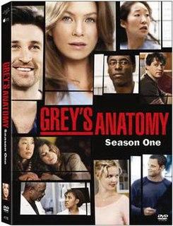 <i>Greys Anatomy</i> (season 1) season of television series