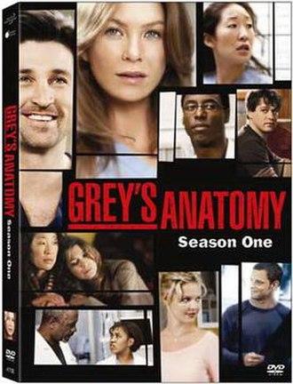 Grey's Anatomy (season 1) - Image: Grey's Anatomy Season One DVD Cover