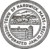 Official seal of Hardwick, Massachusetts