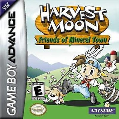 Picture of a game: Harvest Moon: Friends Of Mineral Town