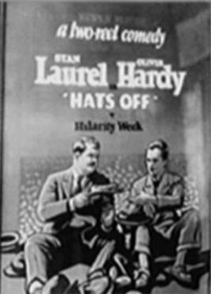 Hats Off (1927 film) - Image: Hats off poster 27