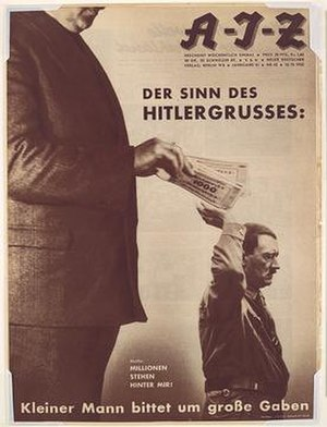 John Heartfield - One of John Heartfield's works.