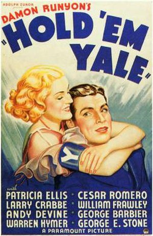Hold 'Em Yale - Theatrical release poster
