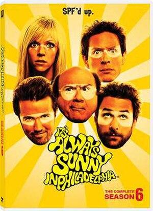 It's Always Sunny in Philadelphia (season 6) - DVD cover