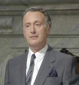 Jim Hacker - Paul Eddington as Prime Minister Jim Hacker