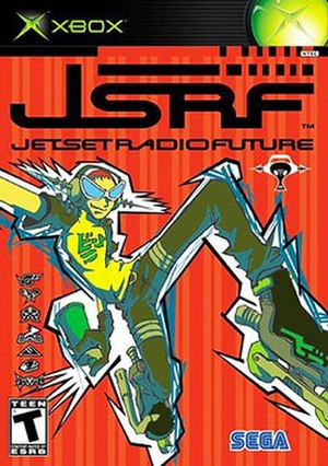 Jet Set Radio Future - North American Xbox cover art