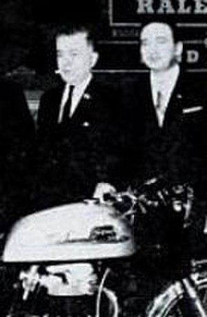 Berliner Motor Corporation - Joseph and Michael Berliner at the Earl's Court Show, 1965