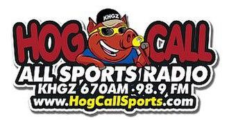 KHGZ - Image: KHGZ station logo