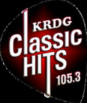 KRDG - Image: KRDG Classic Hits 105.3 logo