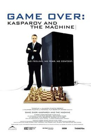 Game Over: Kasparov and the Machine - Theatrical release poster