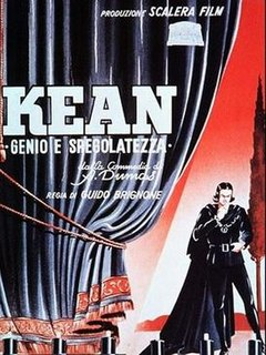 <i>Kean</i> (1940 film) 1940 film by Guido Brignone