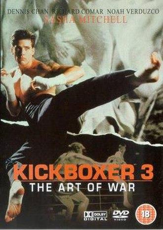 Kickboxer 3 - UK DVD cover