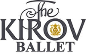 Mariinsky Ballet - Kirov Ballet logo used by Victor Hachhauser, promoting the Mariinsky Ballet in London