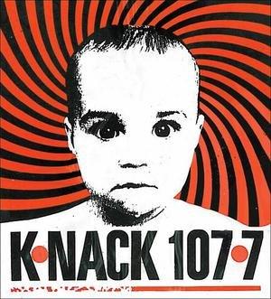 "KLJA - KNNC's early 90s ""Psychobaby"" logo."