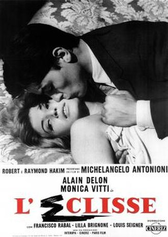 L'Eclisse - Theatrical release poster