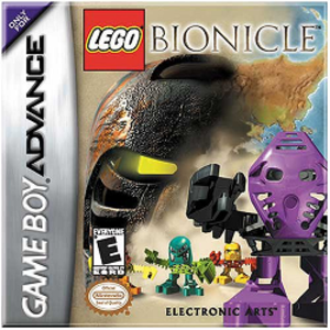 Lego Bionicle (video game) - Image: Lego bionicle gbc cover