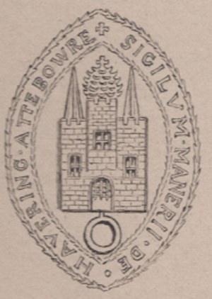 Royal Liberty of Havering - Image: Liberty of havering seal