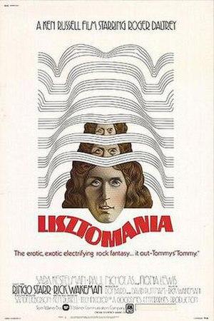 Lisztomania (film) - Promotional poster for Lisztomania