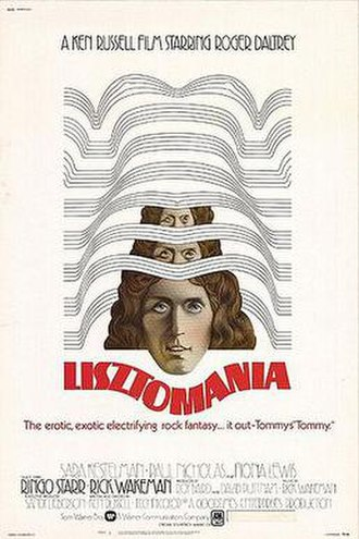 Lisztomania (film) - Promotional poster for Lisztomania