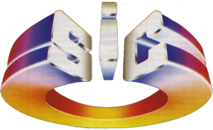 Sociedade Independente de Comunicação - The first version of SIC's logo, used until 6 October 1997.