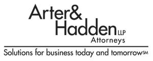 Arter & Hadden - Arter and Hadden's last logo, circa 2003