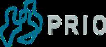 Logo de l'Institut de recherche sur la paix d'Oslo (Institutt for fredsforskning, PRIO) .png