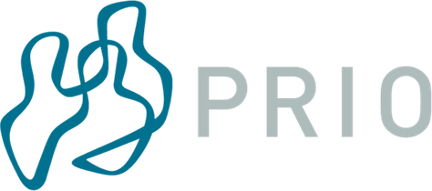 Logo of the Peace Research Institute Oslo (Institutt for fredsforskning, PRIO)