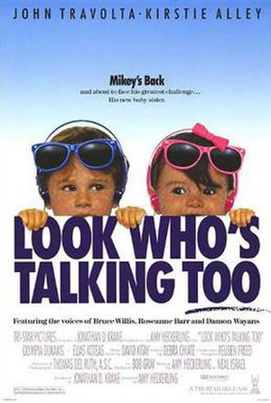 Look Who's Talking Too - Theatrical release poster