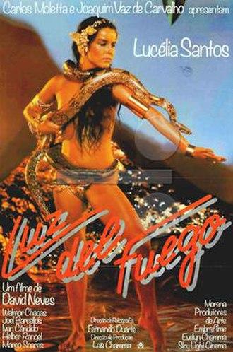 Luz del Fuego (film) - Theatrical release poster