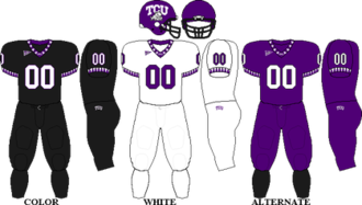 2007 TCU Horned Frogs football team - Image: MWC Uniform TCU 2007 2008