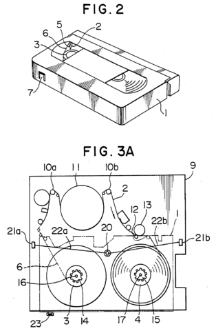 Filemagnetic video tape recorder diagram us004809115 003g other resolutions 157 240 pixels ccuart Image collections