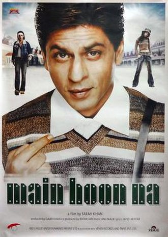 Main Hoon Na - Theatrical release poster