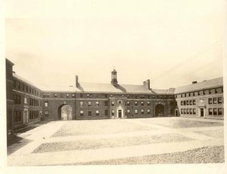 Manhattan College - The Quad in 1923
