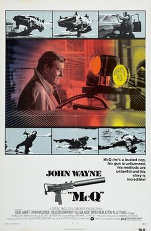 McQ - Theatrical release poster